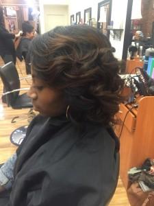 hair amber